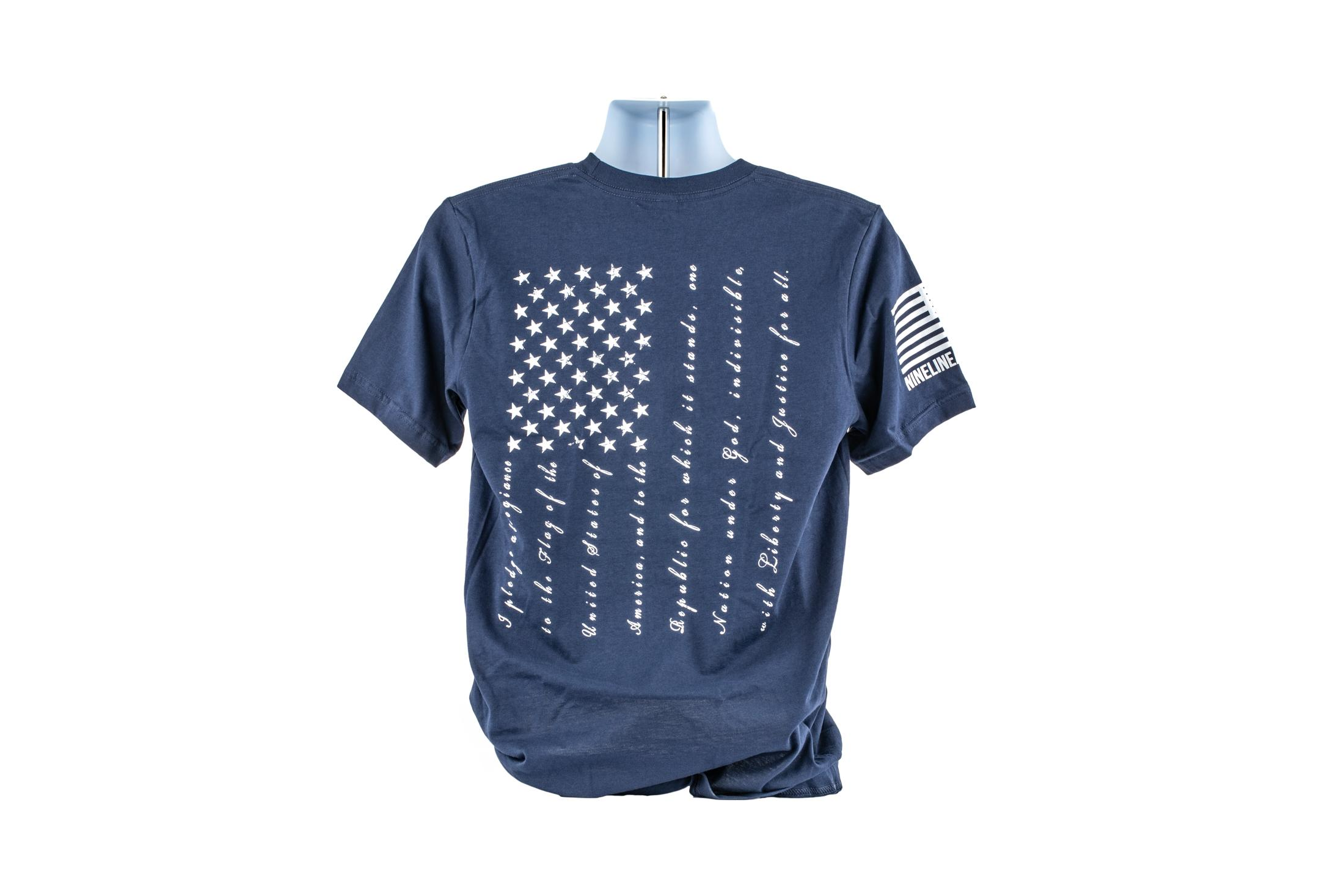 Nine Line Apparel The Pledge T-Shirt - Navy - L