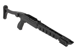"ProMag side folding tactical stock for the Ruger 10/22 accoomdates barrels up to 0.920"" in diameter"