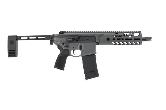 SIG Sauer MCX Virtus 300 Blackout pistol features a 9 inch barrel