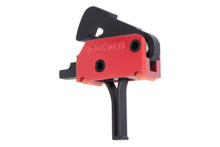 The POF USA drop in trigger features a 3.5 pound pull and flat shoe