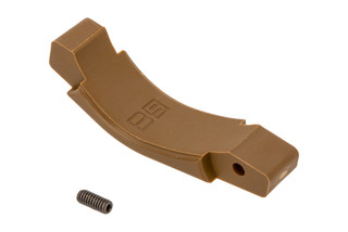 The B5 Systems Coyote Brown AR15 polymer trigger guard is also compatible with AR10 lowers