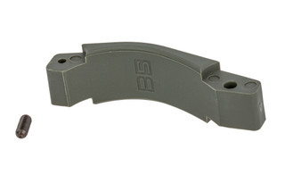 B5 Systems polymer trigger guard for the AR-15 in foliage green.