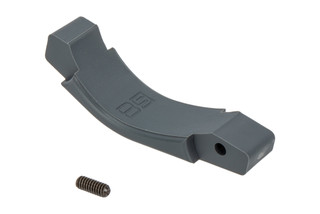 The B5 Systems Grey Polymer Trigger Guard is compatible with AR15 and AR10 lowers