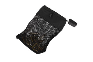 The Leapers UTG AR-15 Mesh Trap Shell Catcher is lightweight at 4.8 oz