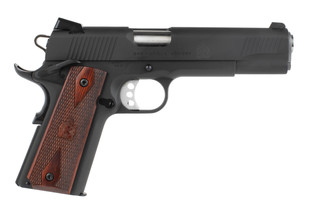 Springfield Armory 1911 Loaded pistol features a 5 inch barrel chambered in 45 acp