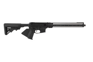 Quarter Circle 10 Big Tex 45 ACP pistol caliber carbine features a cali compliant fin grip