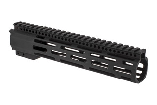 "Radical Firearms 3rd generation free float FCR M-LOK handguard for the AR-15 is 10"" long to cover mid-length gas systems"