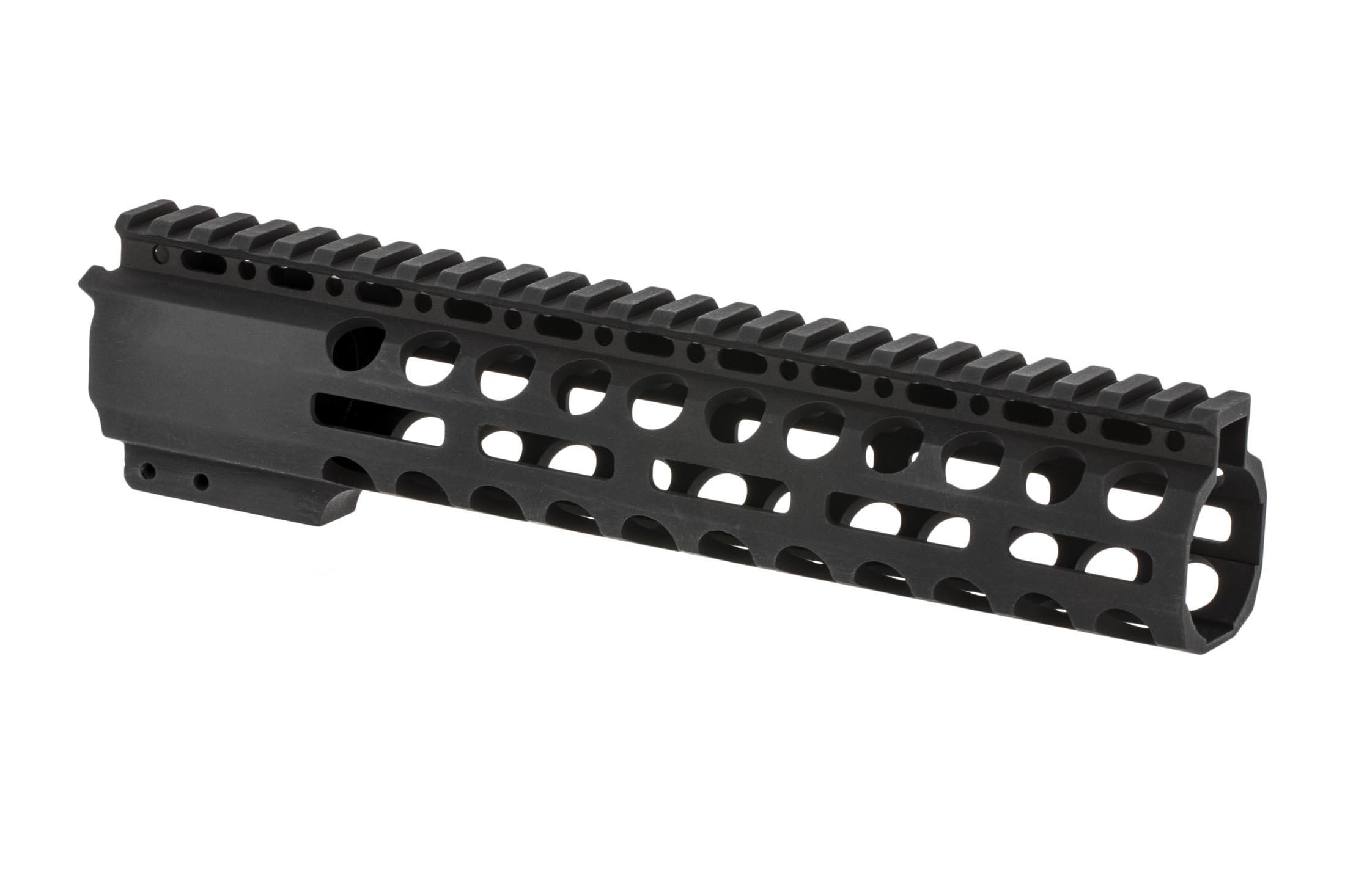 Radical Firearms 3rd generation free float Primary Arms Exclusive M-LOK handguard for the AR-15 is 10 long to cover mid-length gas systems