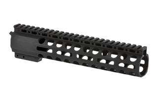"Radical Firearms 3rd generation free float Primary Arms Exclusive M-LOK handguard for the AR-15 is 10"" long to cover mid-length gas systems"