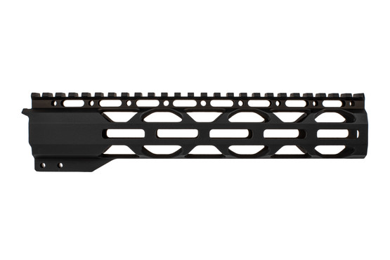 "Radical Firearms 3rd Generation 10"" RPR handguard with anti-rotation tabs and plenty of M-LOK rail slots."