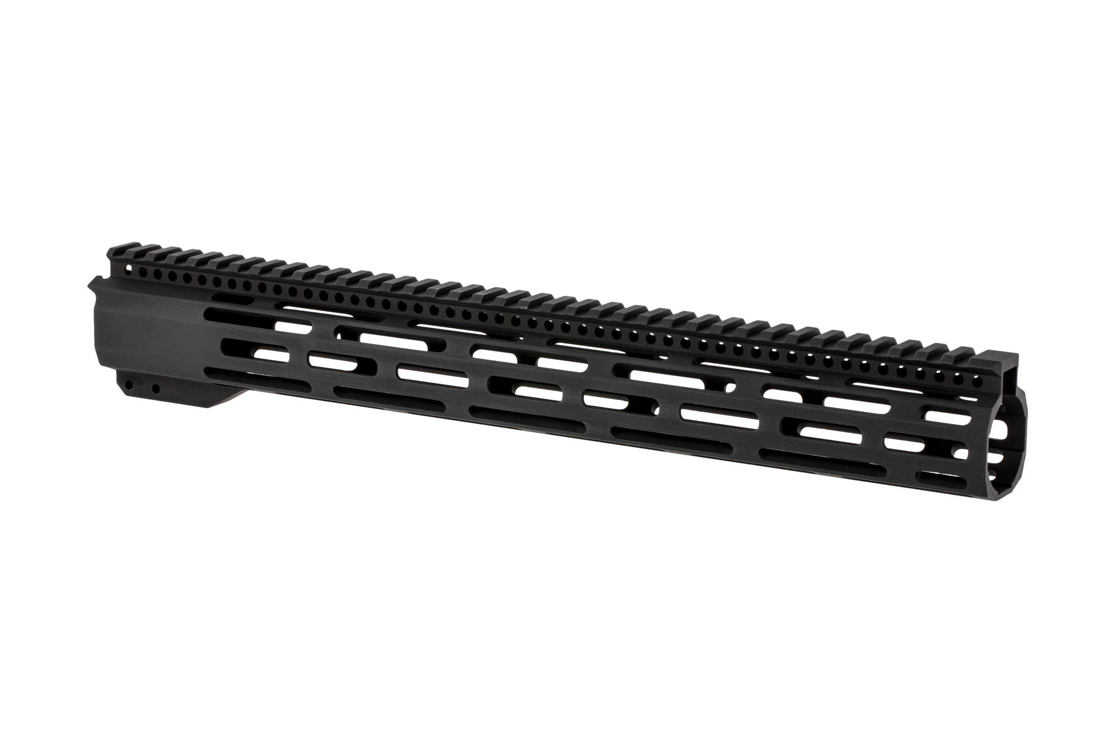 Radical Firearms 3rd generation free float FCR M-LOK handguard for the AR-15 is 15 long to cover mid-length gas systems