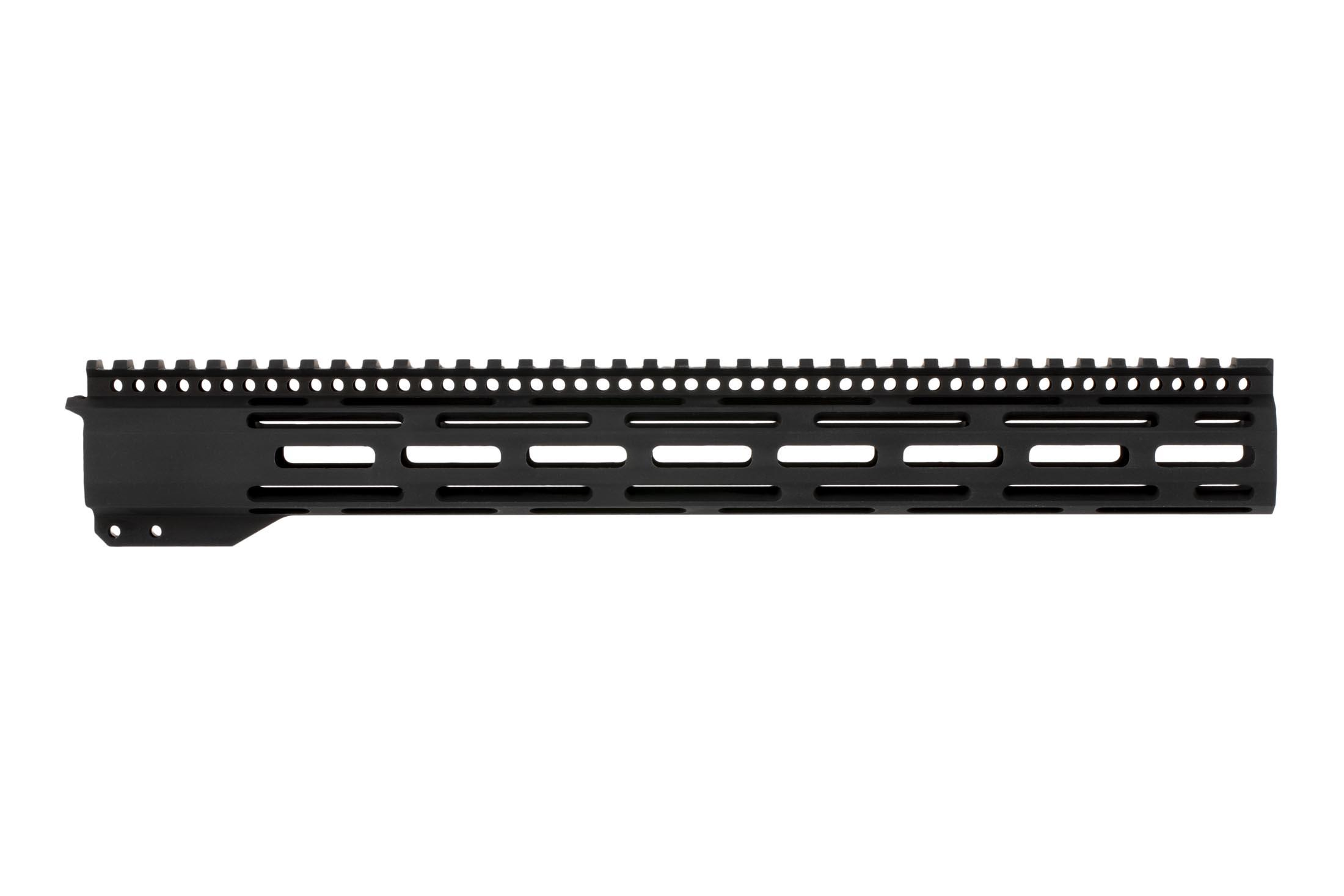 Radical Firearms 15in gen3 FCR M-LOK free float handguard features a full-length M1913 Picatinny top rail