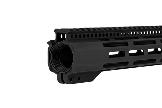 "Radical Firearms 3rd Gen 15"" M-LOK free float FCR handguard for the AR-15 with steel barrel nut and full length top rail"
