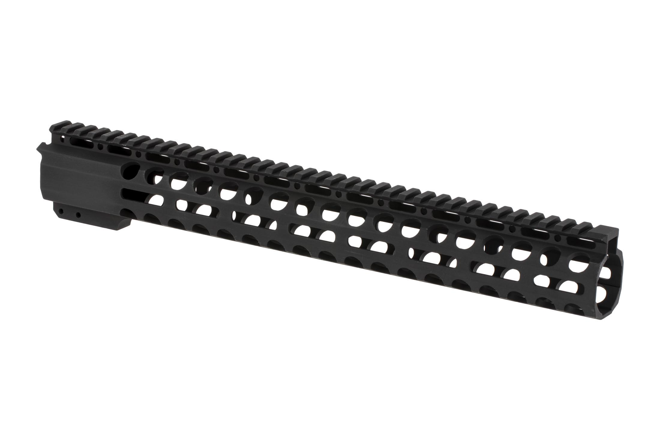 Radical Firearms 3rd generation free float Primary Arms Exclusive M-LOK handguard for the AR-15 is 15 long to cover mid-length gas systems