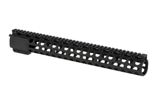 "Radical Firearms 3rd generation free float Primary Arms Exclusive M-LOK handguard for the AR-15 is 15"" long to cover mid-length gas systems"