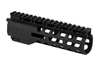 "Radical Firearms 3rd generation free float Primary Arms Exclusive M-LOK handguard for the AR-15 is 7"" long to cover mid-length gas systems"
