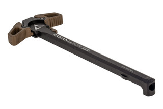 Radian Raptor Ambidextrous AR-15 Charging handle features brown anodized latches