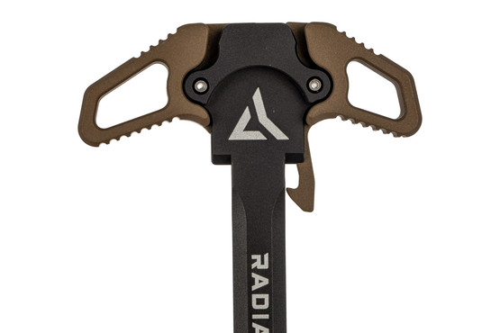 Radian Weapons Raptor AR15 ambidextrous charging handle is machined from 7075-T6 aluminum