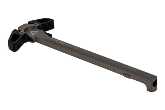 Radian Raptor Ambidextrous AR15 charging handle features an NP3 coating