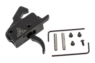 Rise Armament Super Sporting Trigger for the AR-15 is now available with Anti-walk trigger and hammer pins for secure installation.
