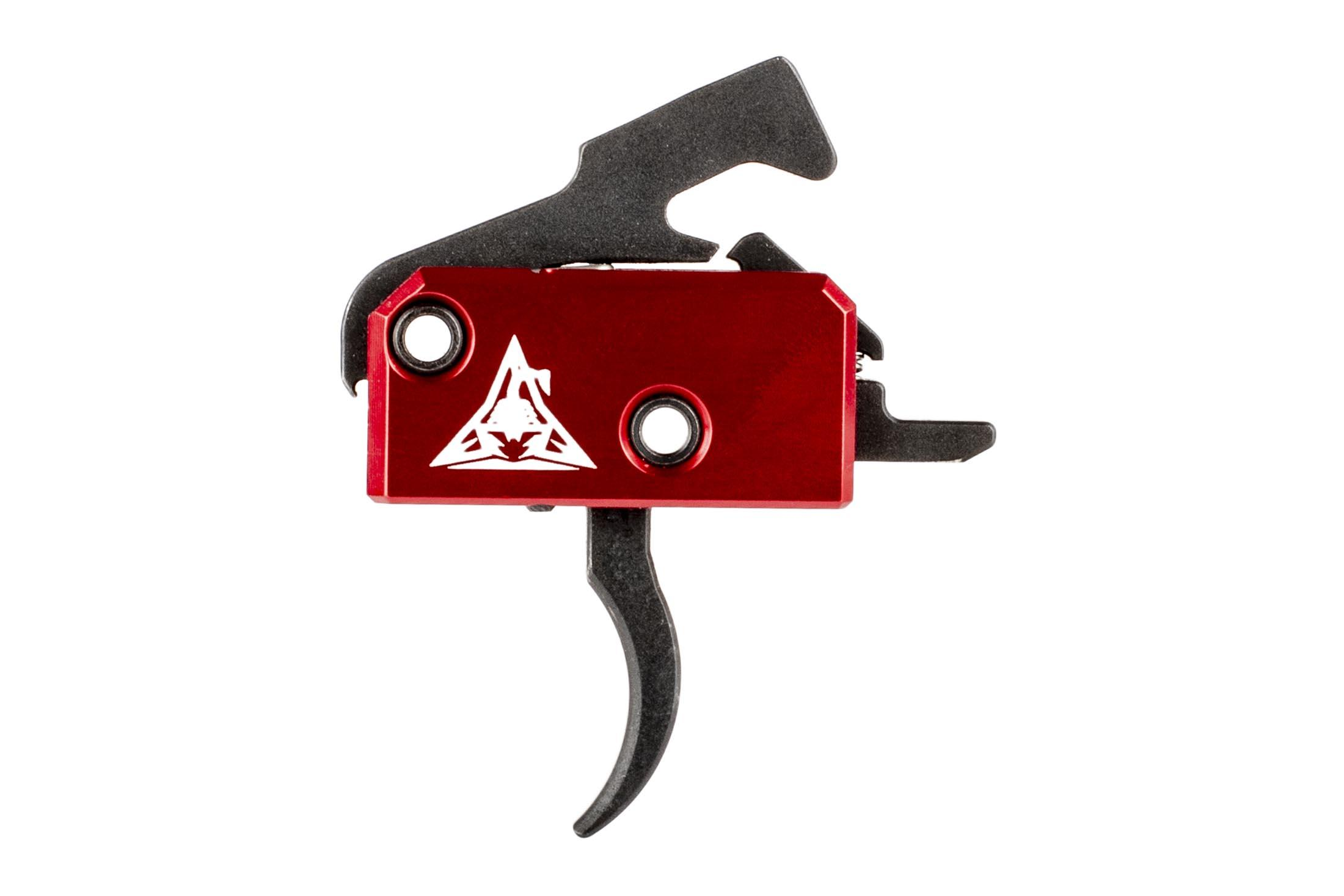 The Rise Armament Super Sporting Single Stage Trigger features a 3.5 lb trigger pull