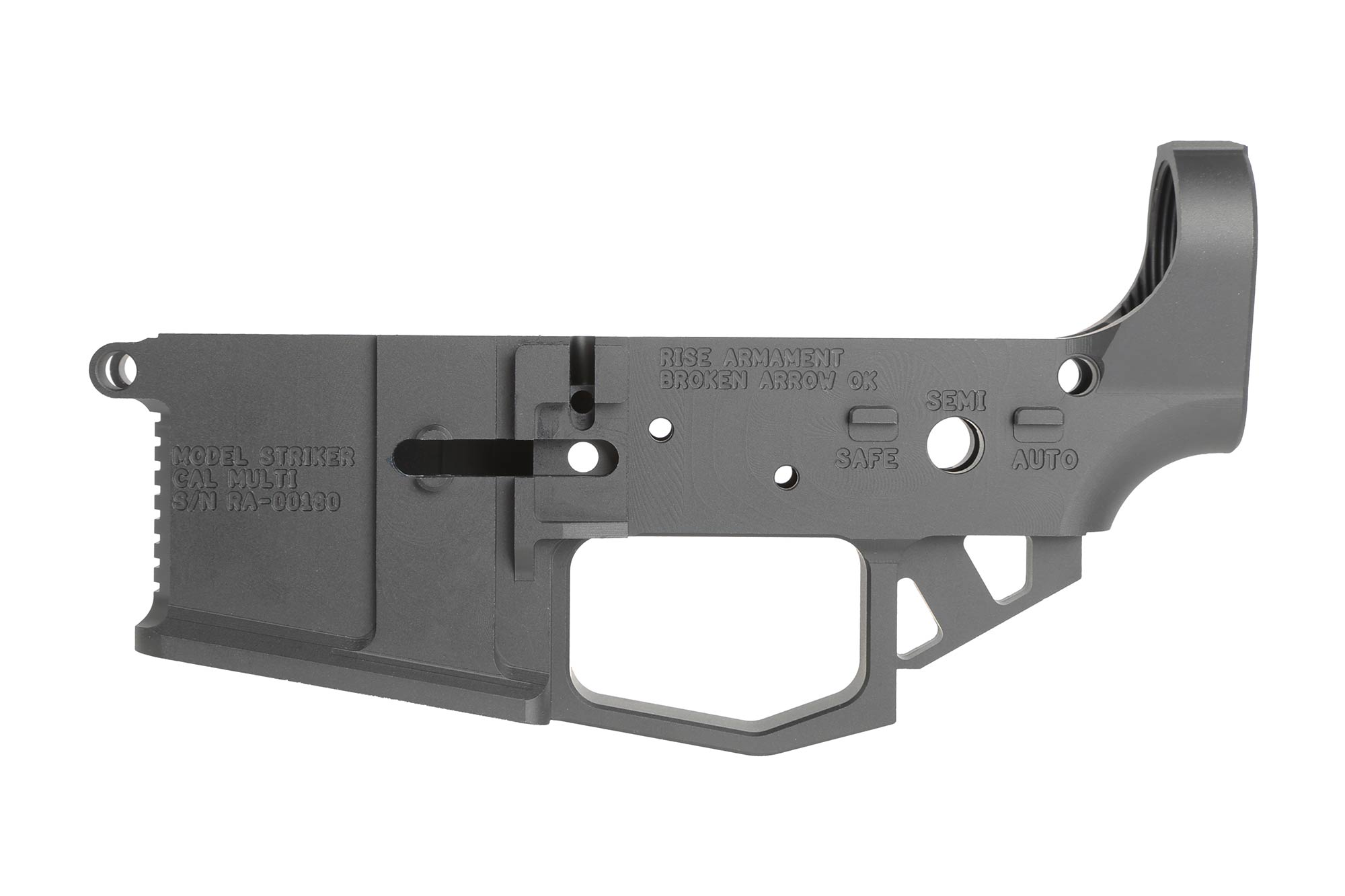 Rise Armament RA-201 STRIKER BILLET AR-15 LOWER RECEIVER