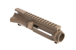 Rise Armament RIPPER stripped billet ar15 upper reciever with tough flat dark earth finish accepts MIL-SPEC components