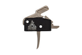 Rise Armament High Performance Trigger is a drop-in single stage trigger with silver bow and anti-walk pins