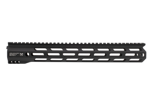 Rise Armament Lightweight AR15 handguard 13 features 3 rows of M-LOK attachment slots
