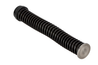 The Rival Arms Glock 19 Gen 4 Stainless Steel Guide Rod and Recoil Spring Assembly is a drop in upgrade