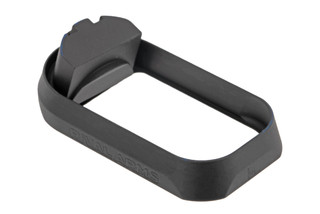 Rival Arms Glock 17 Gen 3 Magazine well features a black hardcoat anodized finish