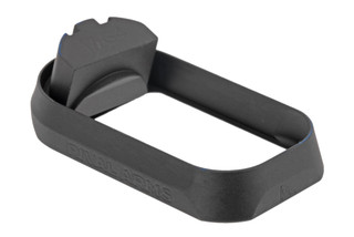 Rival Arms Glock 17 Gen 4 Magazine well features a black anodized finish