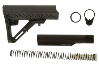 The Leapers UTG Pro Mil-Spec stock kit comes with a carbine length receiver extension