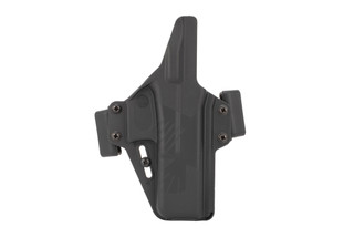 Raven Concealment Perun OWB Holster for Glock 17 pistols is designed for outside the waistband carry