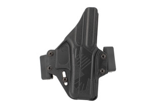 Raven Concealment Perun Glock 42 Holster is made from black Kydex