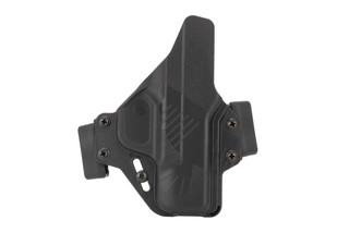 Raven Concealment Perun M&P Shield Holster is made from black kydex