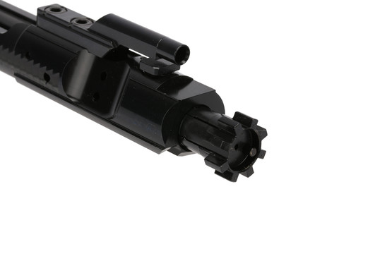 The Radical Firearms 458 bolt carrier group features a shot peened 9310 bolt