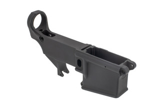 Radical Firearms AR15 80% lower receiver comes with an anodized finish