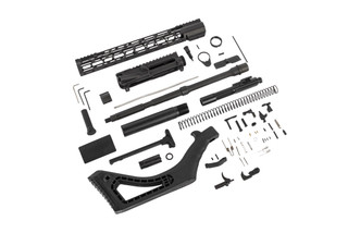 "TacFire featureless AR-15 build kit contains everything you need including a 16"" barrel, just add a stripped lower receiver"