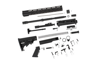 The TacFire AR15 build kit comes with everything you need to build a rifle except lower receiver