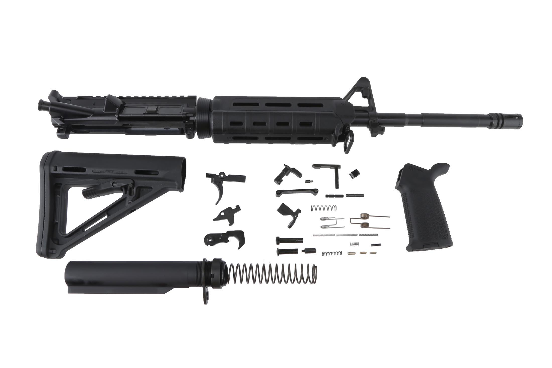 Del Ton 16 5 56 M4 Rifle Kit With Magpul Furniture And M Lok Handguard Black