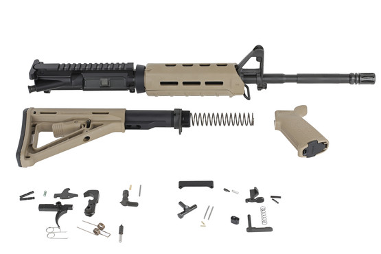 Del-Ton 5 56 M4 Rifle Kit with Magpul Furniture and M-LOK