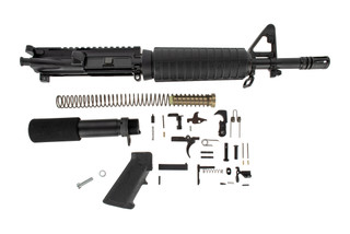The Del-ton M4 pistol build kit features an 11.5 inch barrel