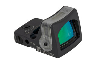 Trijicon RMR Type 2 dual illuminated LED Reflex sight features an amber 7 MOA reticle and sniper grey cerakote finish