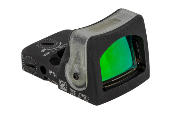 Trijicon RMR Type 2 Adjustable LED Reflex sight features a 9 MOA reticle and black anodized finish
