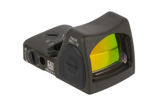 The Trijicon RMR type 2 adjustable LED Reflex sight features a durable OD green Cerakote finish on an aluminum chassis