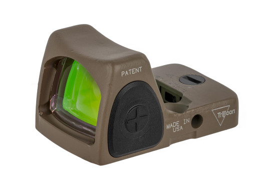 Trijicon 6.5 MOA RMR Type 2 Adjustable LED sniper red dot sight is designed to survive punishing handgun slide use