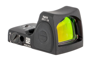 The Trijicon RMR Type 2 adjustable LED reflex sight features a 1 MOA red dot