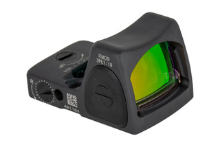 Trijicon RMR Type 2 Adjustable LED Reflex sight features a 1 MOA reticle and Sniper Grey cerakote finish