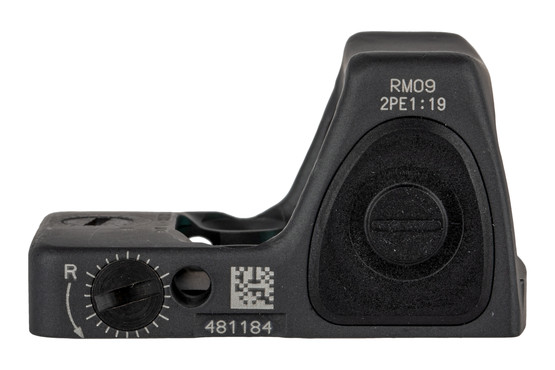 Trijicon Type 2 RMR with Adjustable 1 MOA reticle features easy to use side mounted controls and an Sniper Grey finish